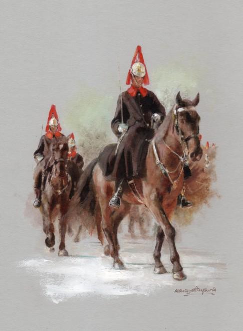 Mandy Shepherd, Horseguards
