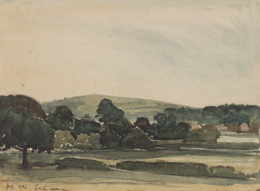 Claude Muncaster, PRSMA, RWS, ROI, RBA, Early morning, Sussex