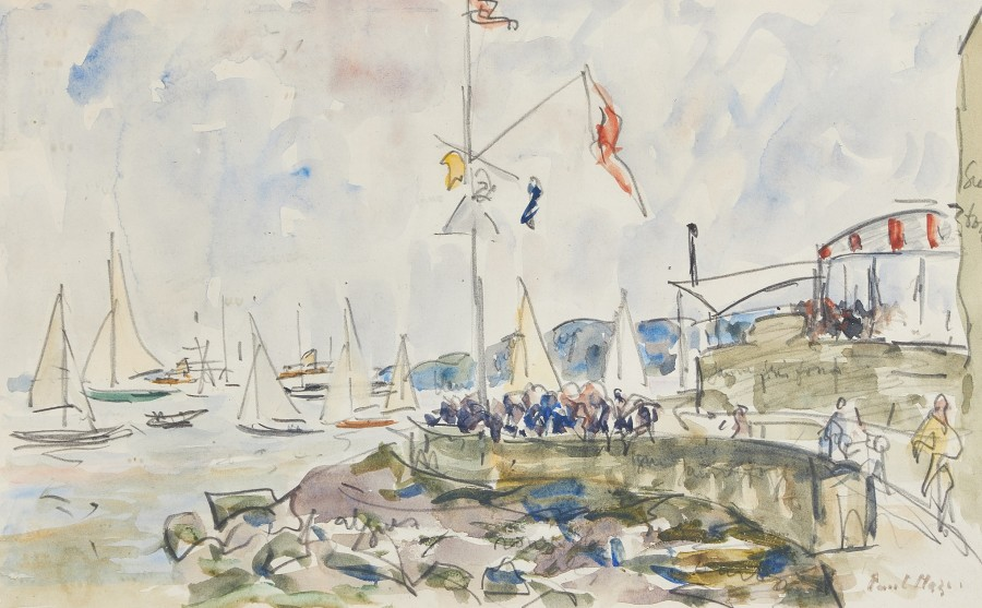 Paul Maze, The Royal Yacht Squadron, Cowes, Isle of Wight