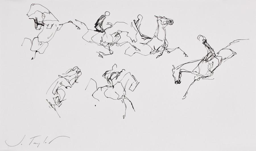 Jo Taylor, Horse chaos