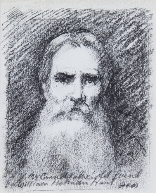 Raoul Millais, Sketch portrait of William Holman Hunt