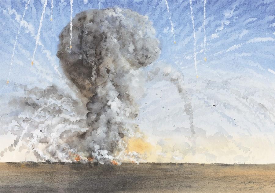 Gordon Rushmer, Destroying Saddam's weapons