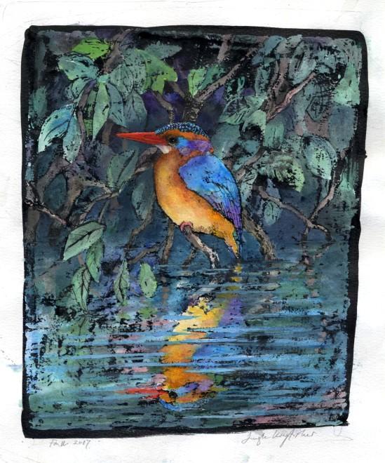 Emma Faull, Jungle Kingfisher II