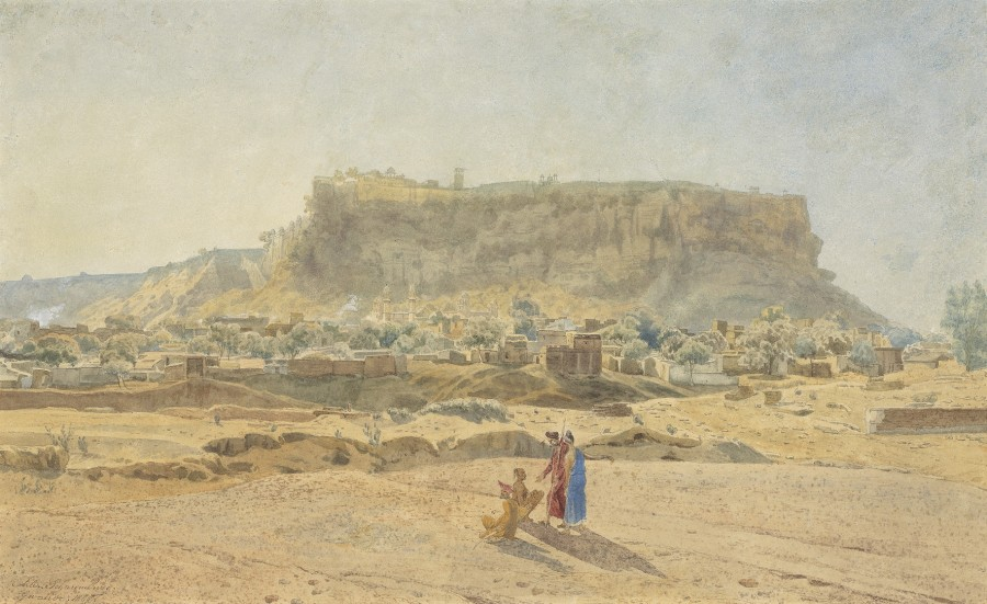 Jules Schaumburg, Ancient fort of Gwalior, India