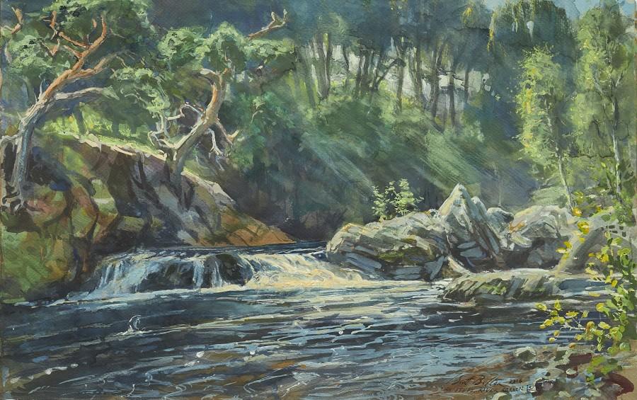 Tim Scott Bolton, The Steps, River Carron