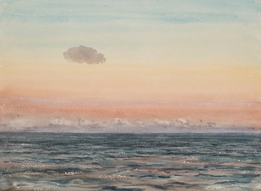 Claude Muncaster, PRSMA, RWS, ROI, RBA, Before Sunrise, Indian Ocean