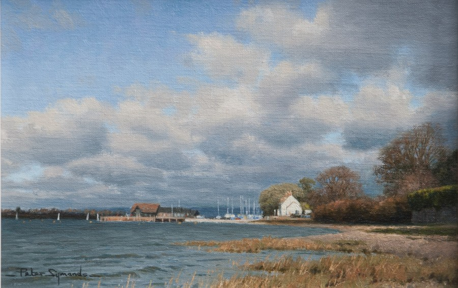 Peter Symonds, Crown and Anchor, Dell Quay, Chichester Harbour