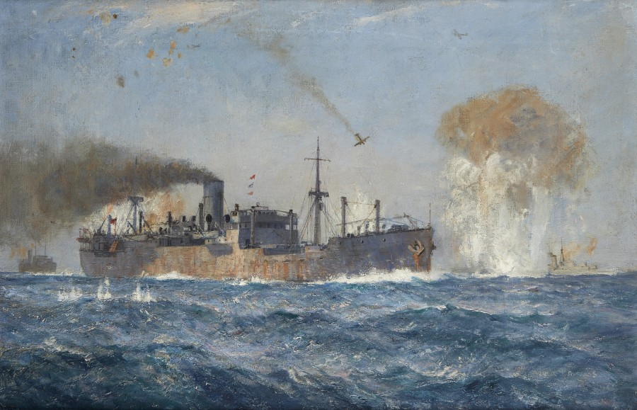H.M.S. Sunderland on patrol