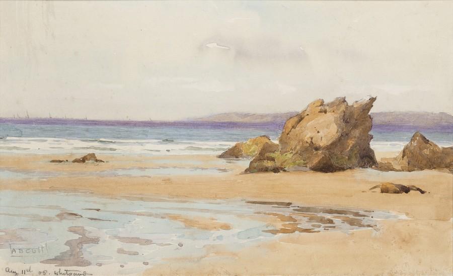 Alma Claude Burton Cull, Whitsand, Cornwall