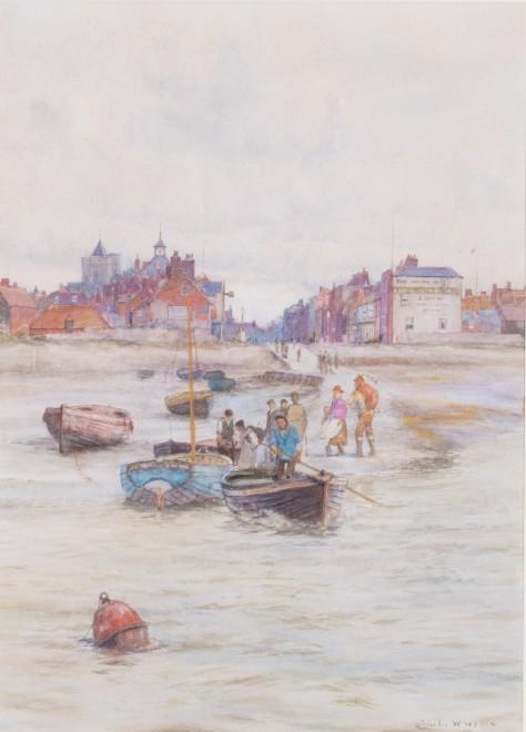 Charles William Wyllie, ROI, Leaving shore