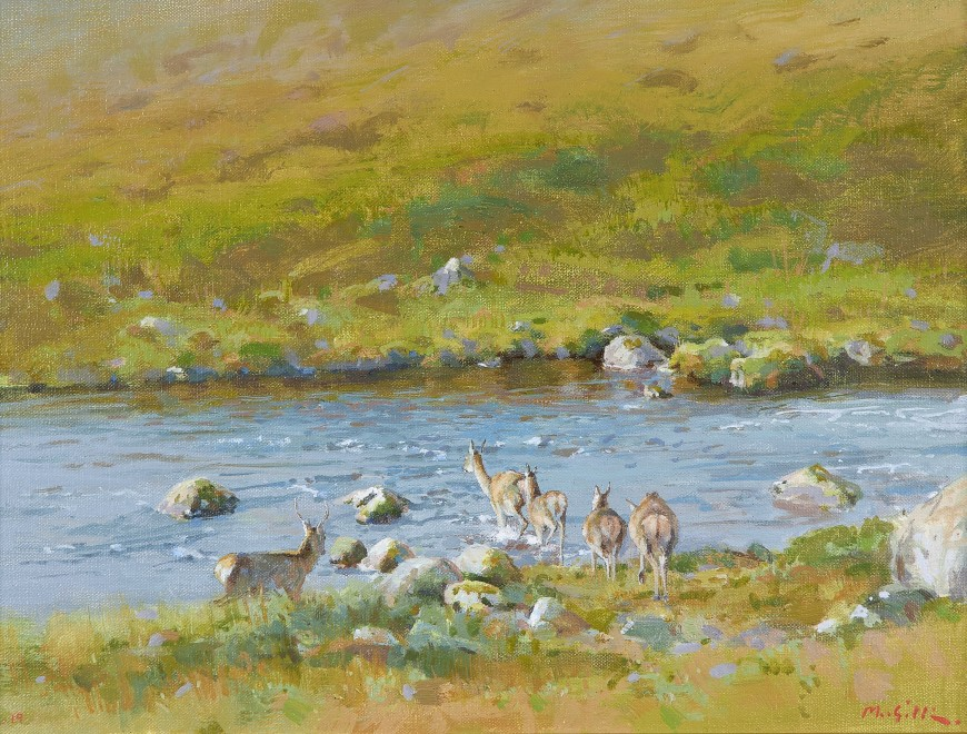 Ian MacGillivray, Across the water