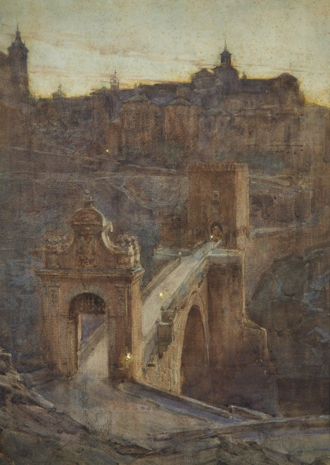 Henry Charles Brewer, The entrance to the city, Toledo