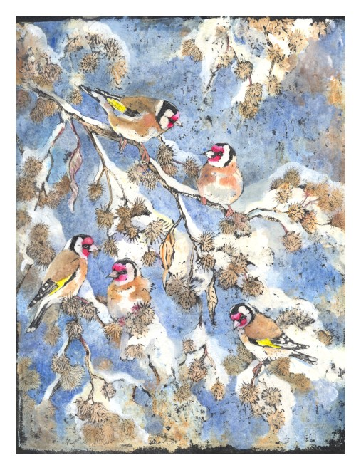 Emma Faull, Winter Goldfinch