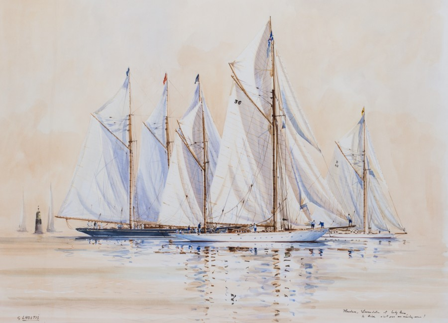 Guy L'Hostis, Yachts