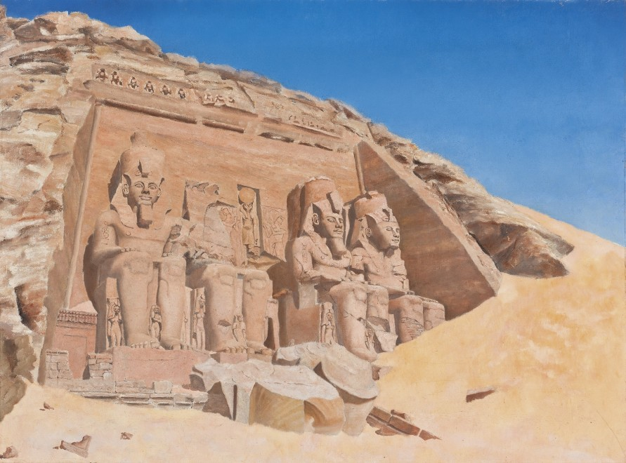 The Great Temple of Ramesses II at Abu Simbel