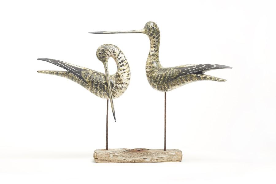 Stephen Henderson, Pair of Shorebirds III