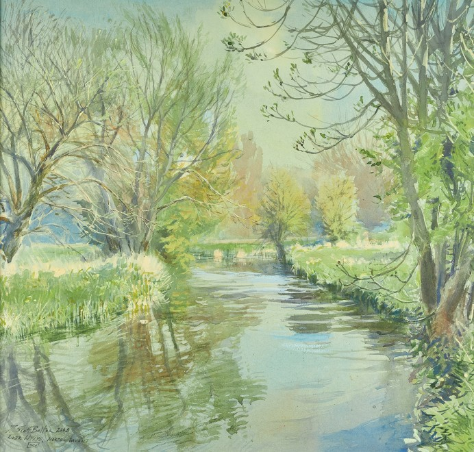 Tim Scott Bolton, River Wylye, Norton Bavant
