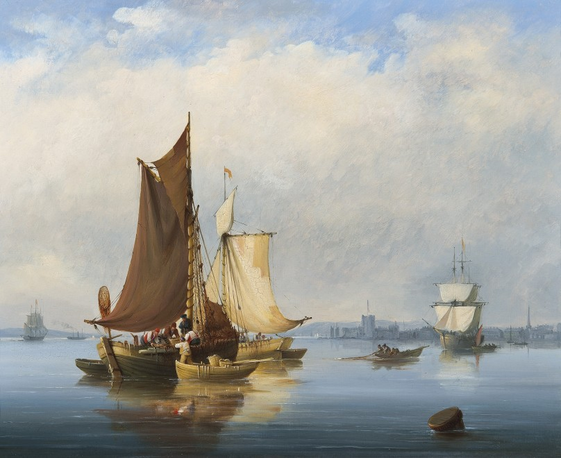 Nicholas Condy, Shipping off Carrickfergus