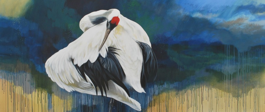 Jim Starr, Red Crowned Crane