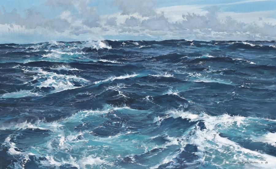 Keith Shackleton, A nice sailing breeze