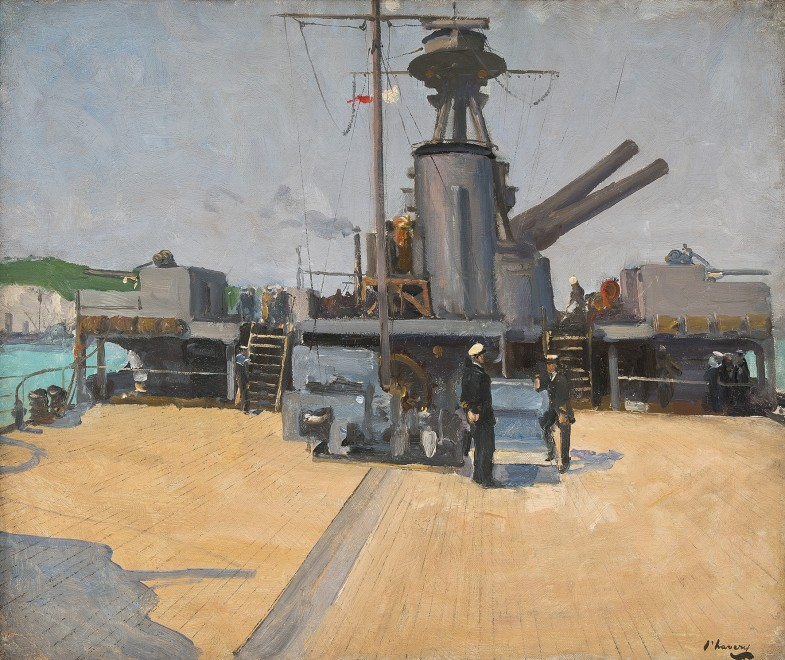 Sir John Lavery, RA, RHA, RSA, HMS Terror