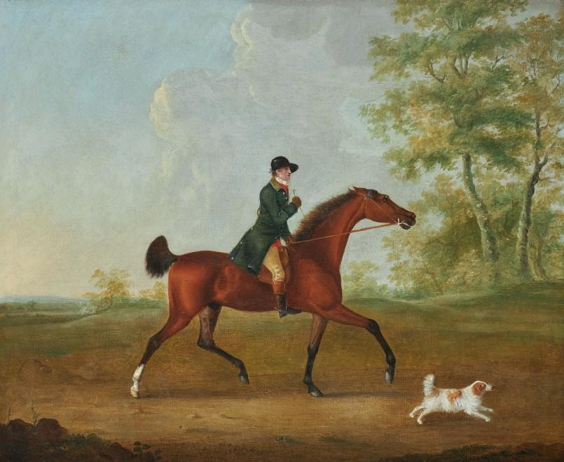 John Nost Sartorius, Huntsman and his hound