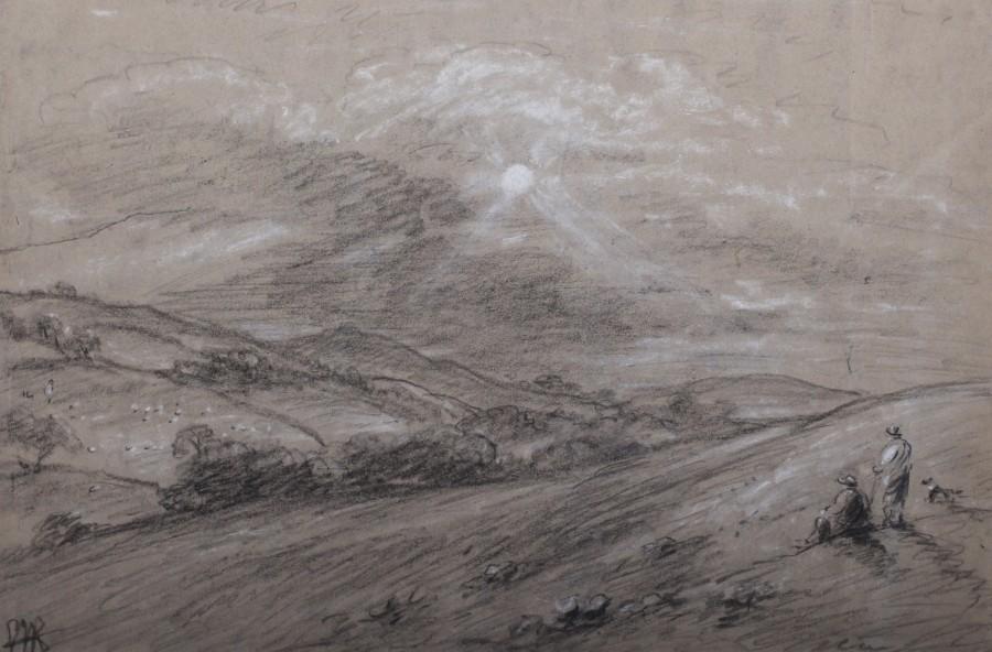 George James Rowe, Shepherds at Steeple, Purbeck