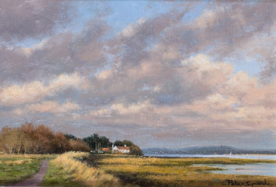 Peter Symonds, The late sail, Thorney Island, Chichester Harbour