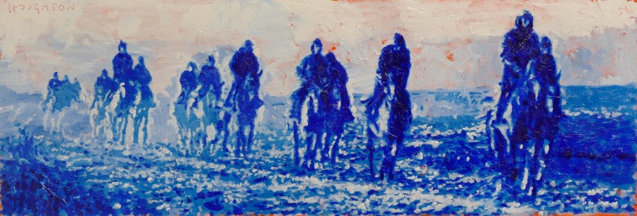 Jeremy Houghton, On the gallops