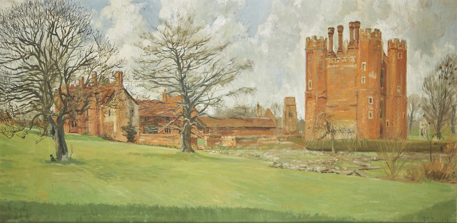 Clifford Charles Turner, View of Leez Priory, Little Leighs