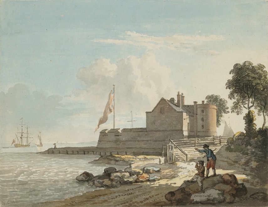 William Owen, Cowes Castle