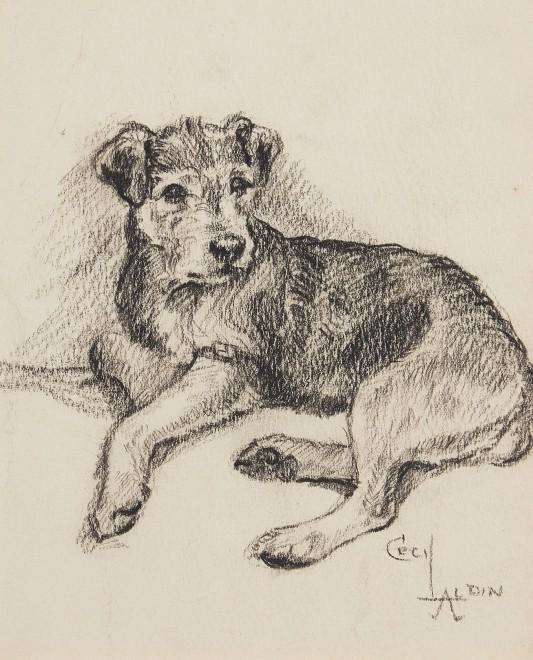 Cecil Charles Windsor Aldin, Terrier