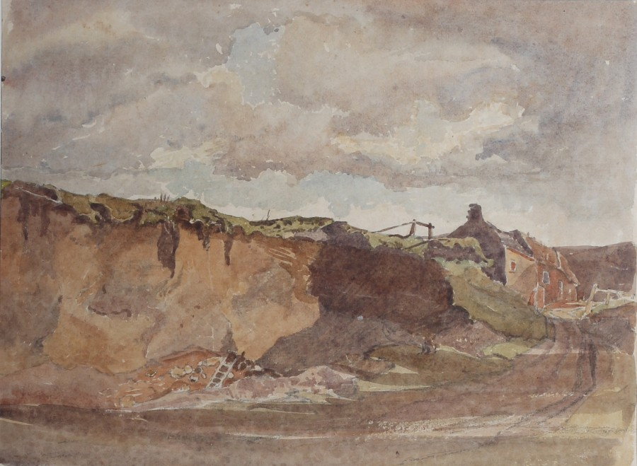 Claude Muncaster, PRSMA, RWS, ROI, RBA, Sandpits near Bignor, Sussex