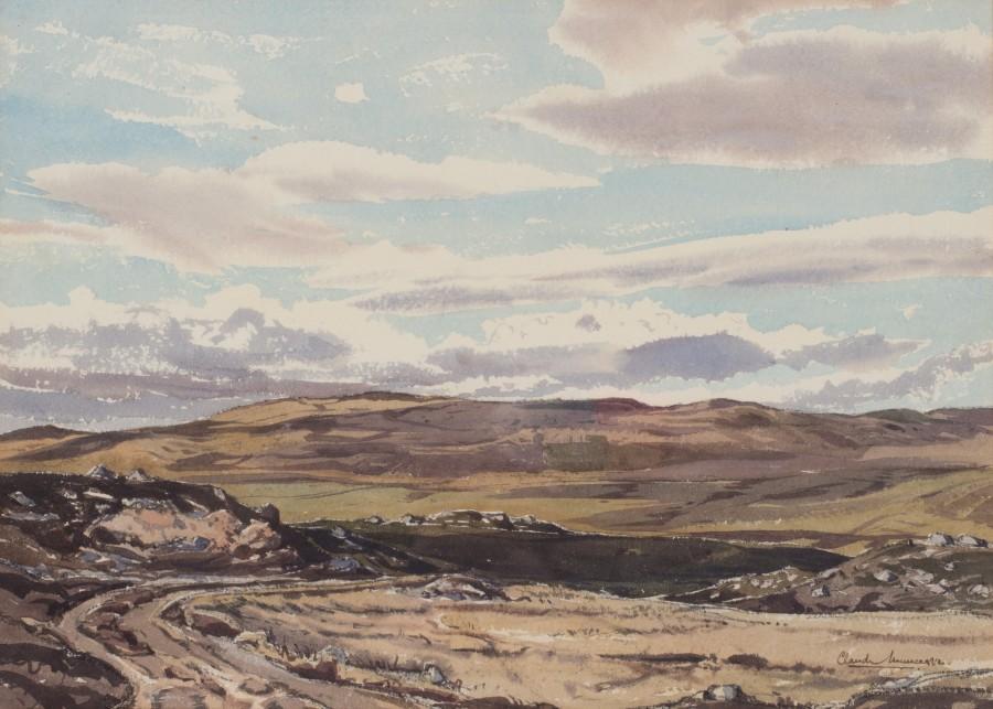 Claude Muncaster, PRSMA, RWS, ROI, RBA, Glen Gelder, near Balmoral