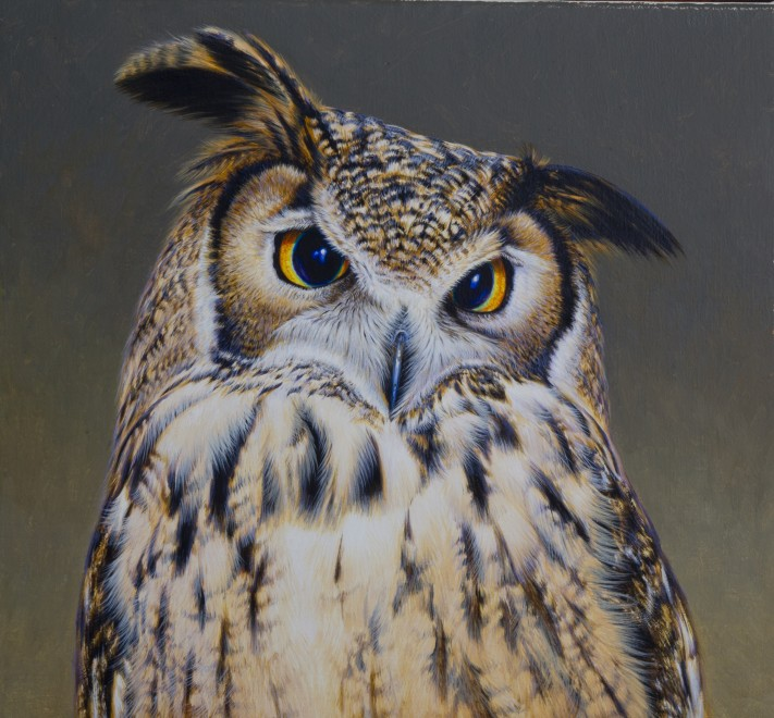 David Ord Kerr, Indian Eagle Owl