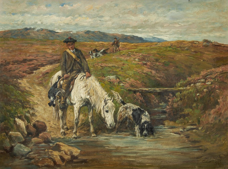 John Emms, The end of a Highland day