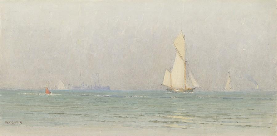 Alma Claude Burton Cull, View from the shore June 15, 2-4pm