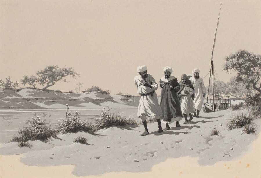 Robert George Talbot Kelly, Riverside work, Egypt