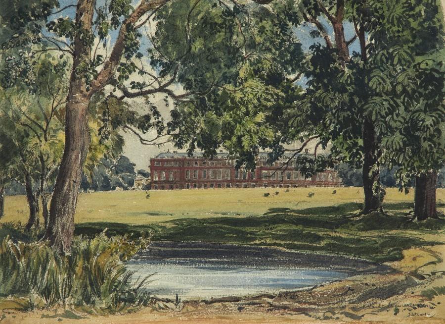 Claude Muncaster, PRSMA, RWS, ROI, RBA, Petworth House and Park