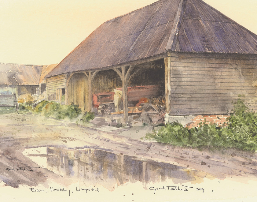 Gordon Rushmer, Barn Hawkley
