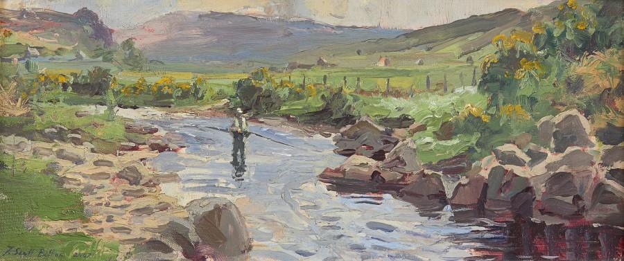 Tim Scott Bolton, Fishing on the River Halladale