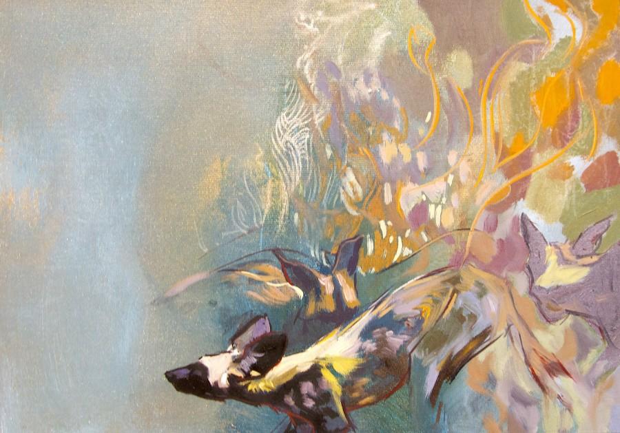 Emily Lamb, Painted Dog