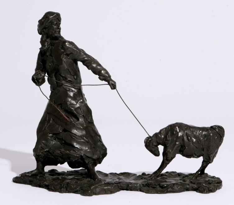 Domenica de Ferranti, The reluctant goat