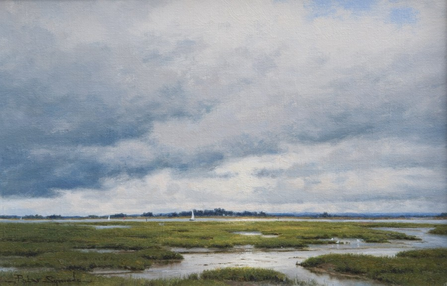 Peter Symonds, Sailing home, Chichester Harbour