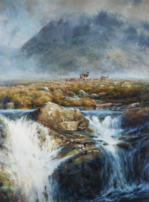 Ian MacGillivray, Above the waterfall
