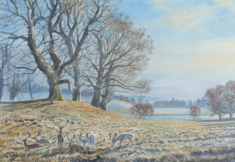 Tim Scott Bolton, Petworth in winter