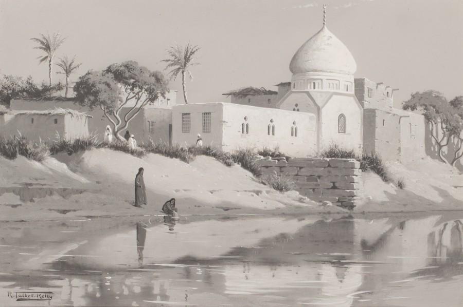 Robert George Talbot Kelly, Shinbab waterway, Egypt