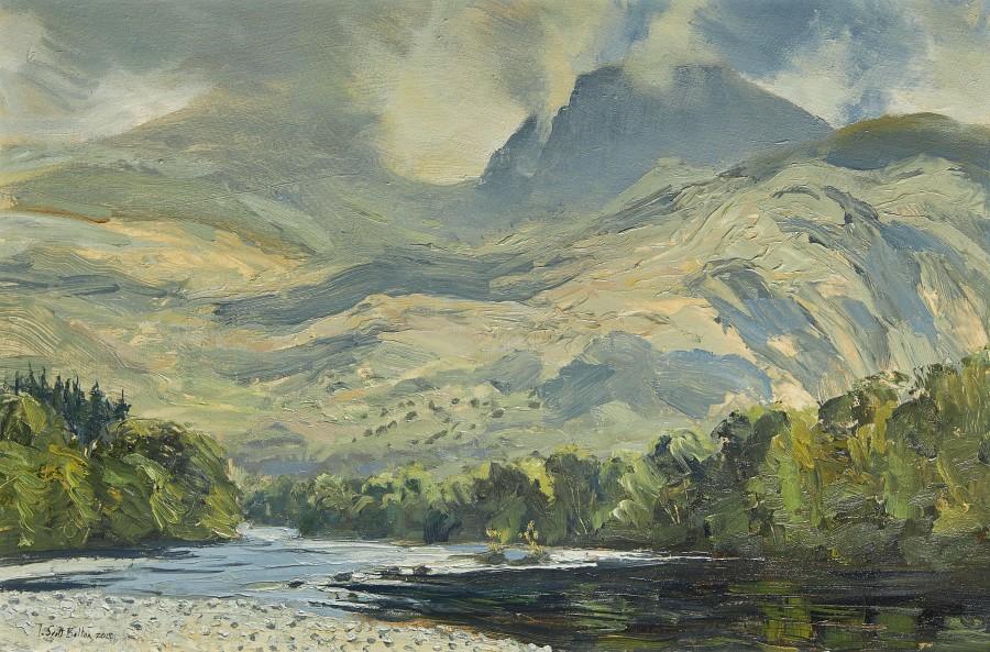 Tim Scott Bolton, River Lochy and Ben Nevis