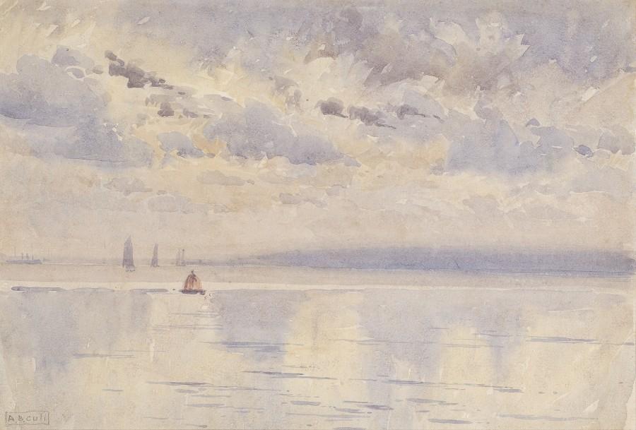 Alma Claude Burton Cull, Seascape, September 1906
