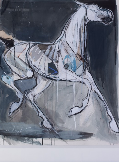 Jo Taylor, Ghost horse